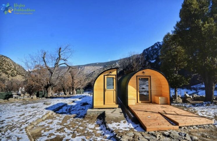 Camping pods installed in Bamburet, Kalash Valley Chitral to facilitate tourists  : @kptourism  #Chitral #BeautifulPakistan<br>http://pic.twitter.com/mg1gIs2Zqo