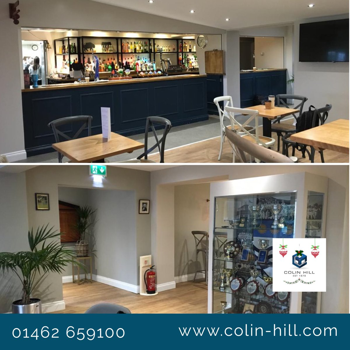 We visited the team at Sunbury Cricket Club this week @sunburycc to add some finishing touches to our recent refurbishment project of their social club, our clients are over the moon with their brand new space #barrefurbishment #bar #cricketclub #sportsclubpic.twitter.com/pjtdBPuJ2r