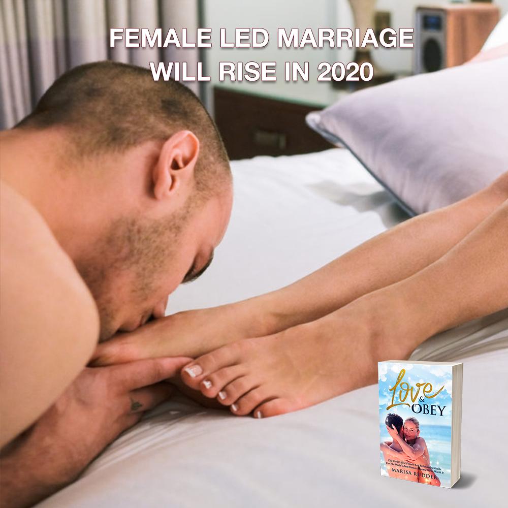 Led marriage wife Female Led