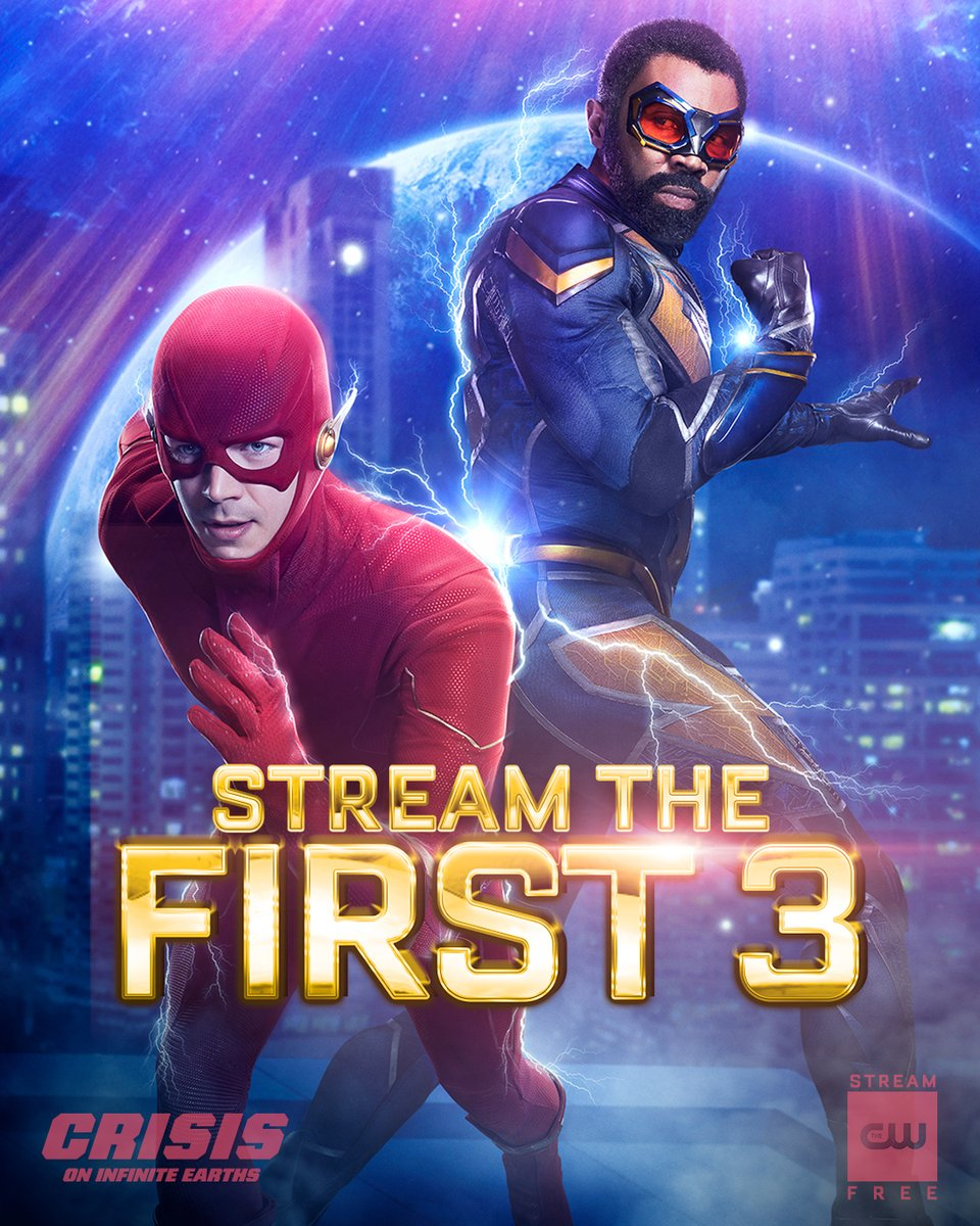 Black Lightning On Twitter Coming Together To Save Lives Stream The First 3 Episodes Of Crisisoninfiniteearths Free Now On The Cw App Https T Co Txri7k8rfv Https T Co Dhcfqiznuq
