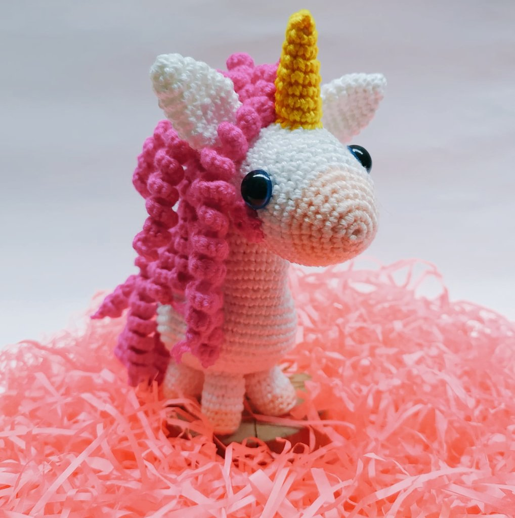 Tutorial unicornio Amigurumi (parte 1) - YouTube | 1024x1018
