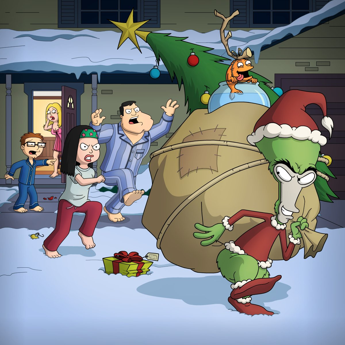 """American Dad american dad on twitter: """"guess who stole christmas this"""