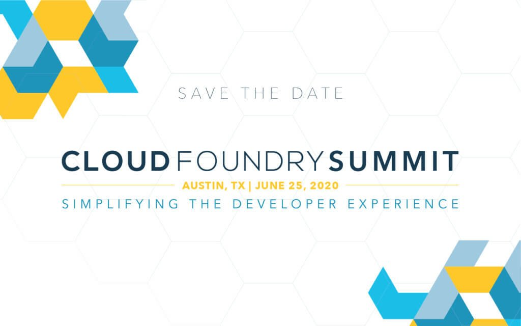 Save the Date: #CFSummit is back. Join us in Austin, Texas on June 25, 2020 and Dublin, Ireland on October 29, 2020. Learn more:  https://www. cloudfoundry.org/blog/where-in- the-world-are-cloud-foundry-summits-2020/  … <br>http://pic.twitter.com/cAHcXF82ri