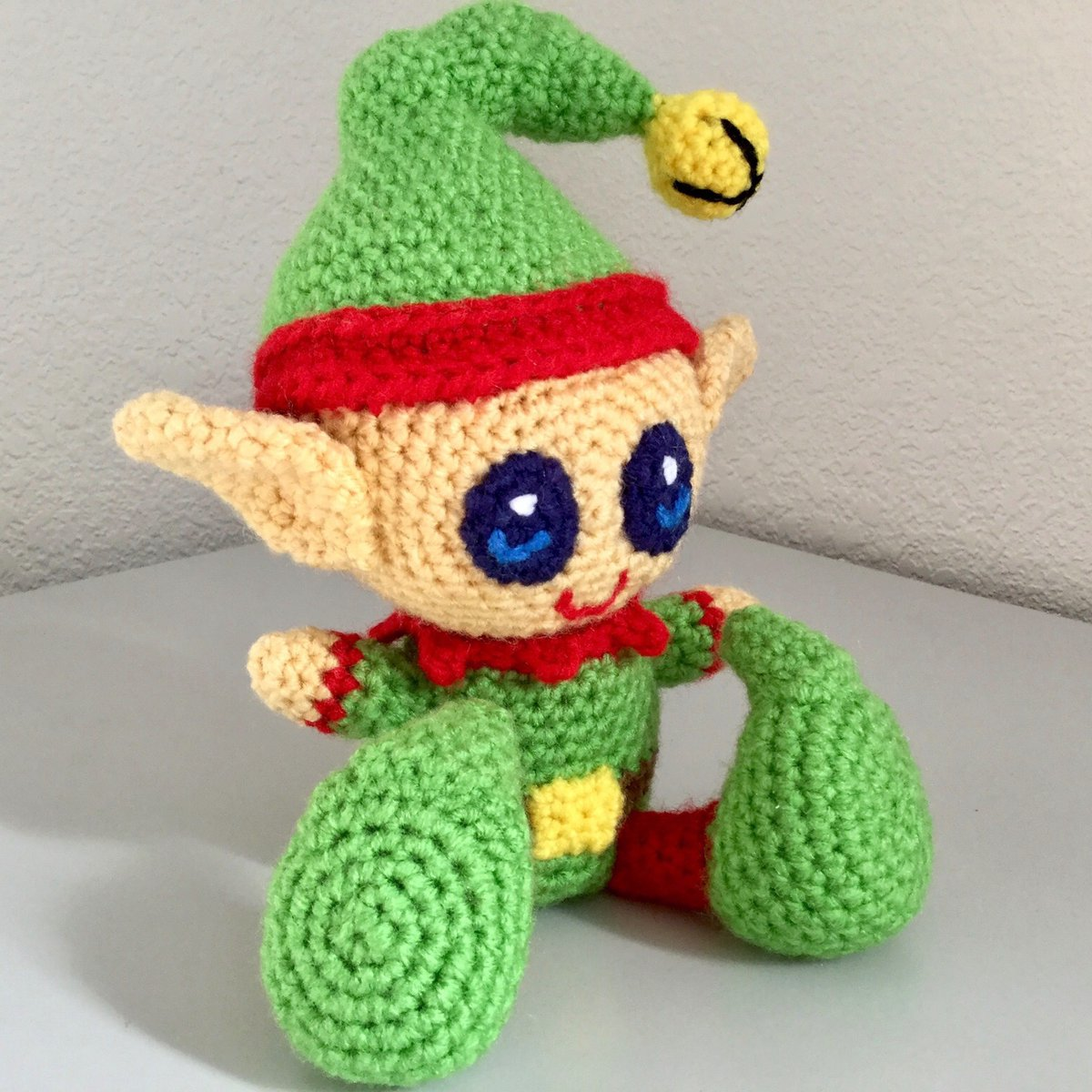 Free amigurumi pattern - Little Christmas elf | lilleliis | 1200x1200