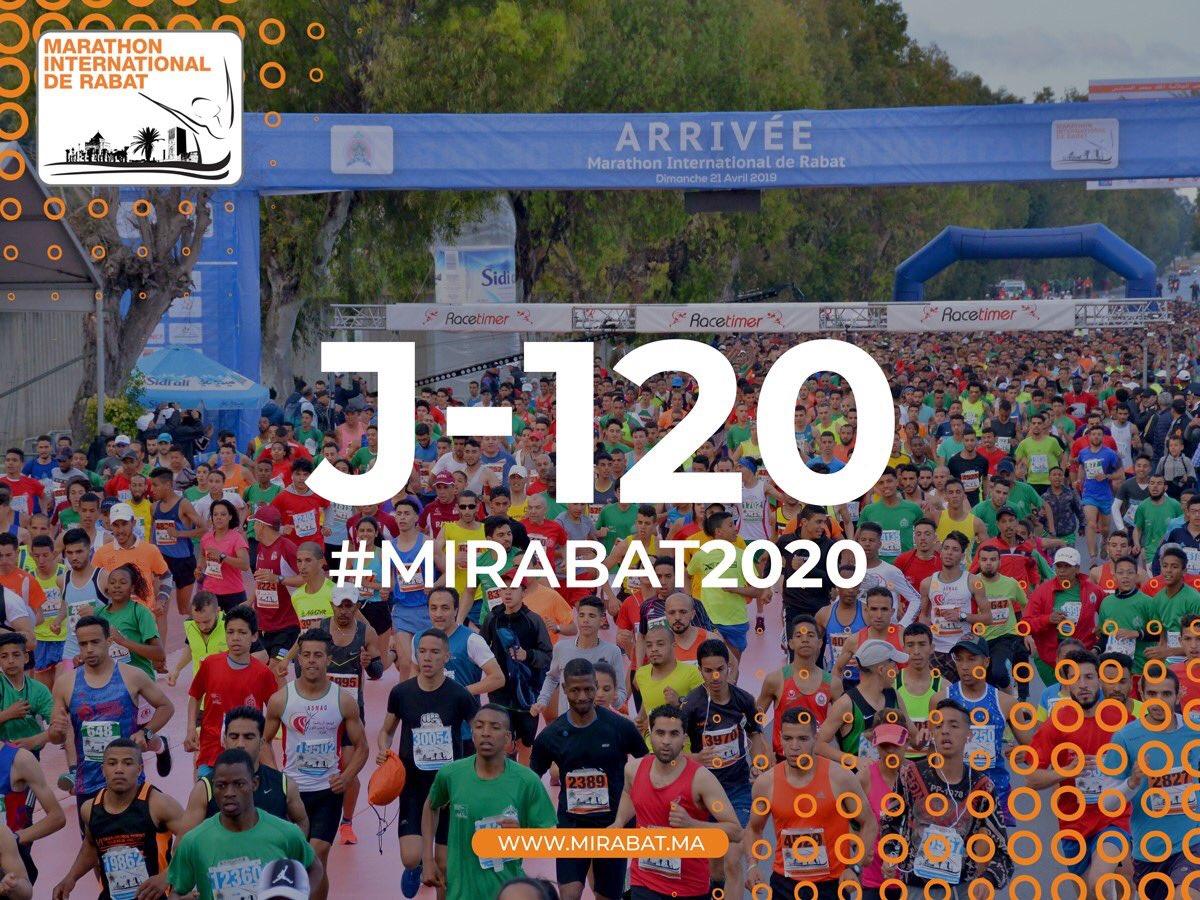 J-120 du Marathon International de Rabat   Suivez toute l'actualité du #Marathon sur  #Facebook https://t.co/JqugQHfkKH #Instagram https://t.co/I6BEIrnybf #Site_web https://t.co/YV3c6gjLB7 https://t.co/k1qvBSoows