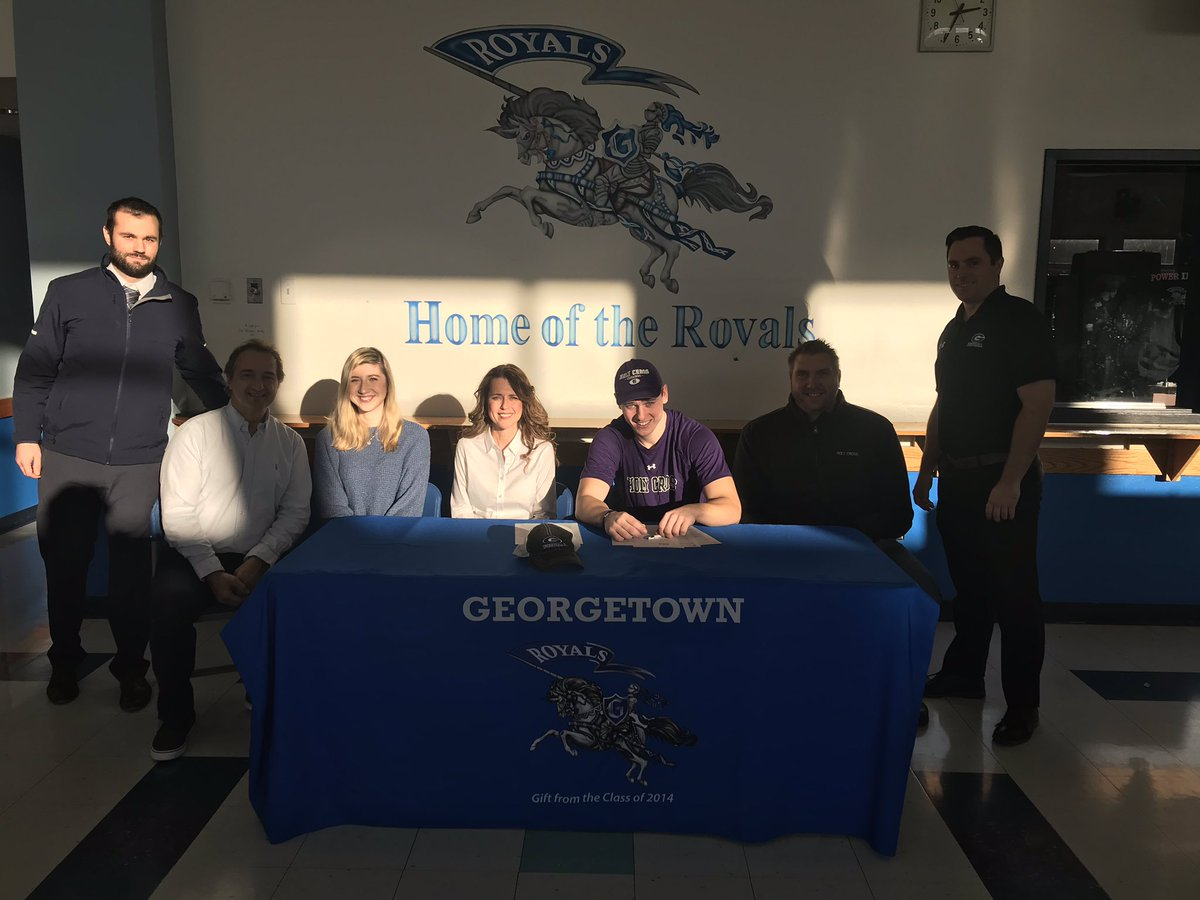 Congratulations to Hunter Lane as he embarks on his journey as a Holy Cross Crusader football player #RoyallyProud