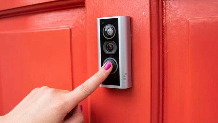 alimentation sonnette connectée portier vidéo interphone