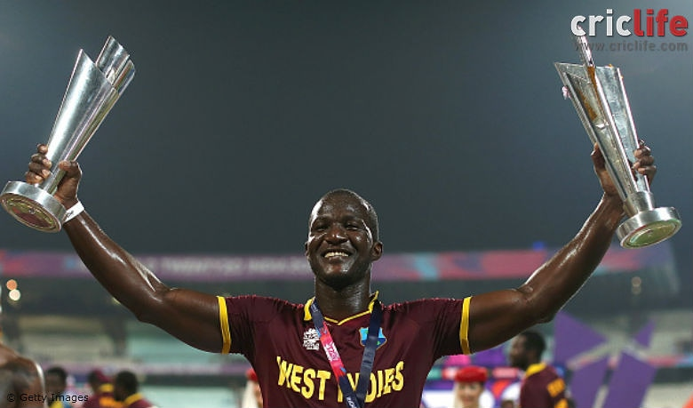 Wishing once of @windiescricket s greatest captians @darensammy88 a very happy belated birthday. An example of a true sport. A passionate sportsman who plays every game with passion. Hv a great year. One of my favourite cricketers