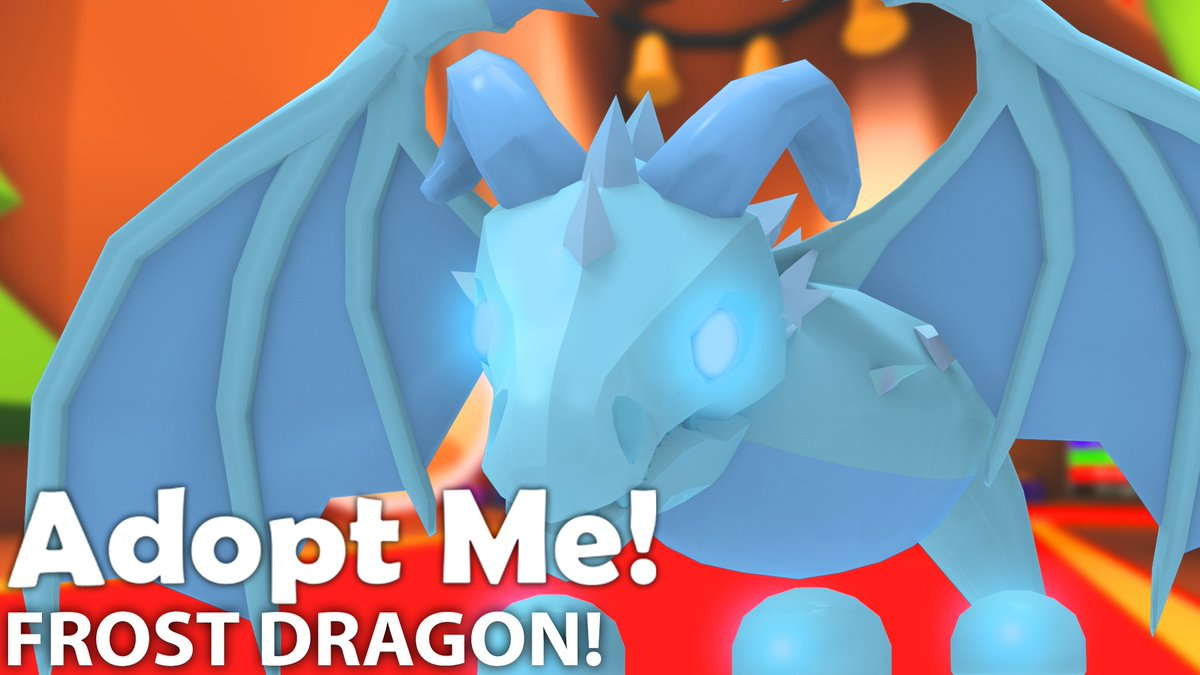 Adopt Me On Twitter The Frost Dragon Is A Limited Pet But We
