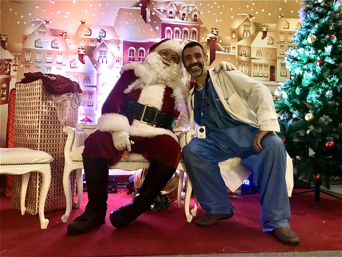 I found Santa working late tonight!!! #Christmas