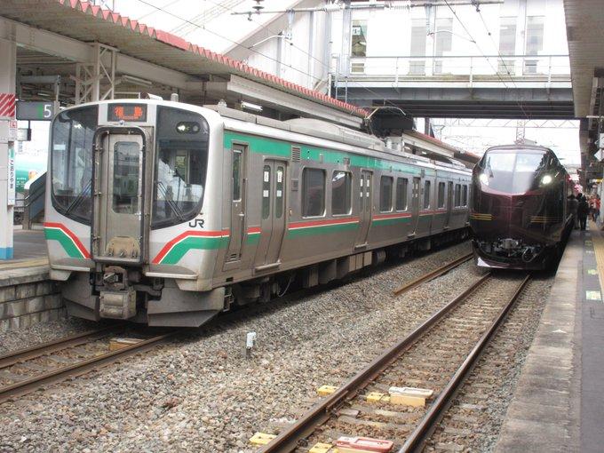 【上野→仙台】E655系「なごみ」が運転 ハイグレード車両