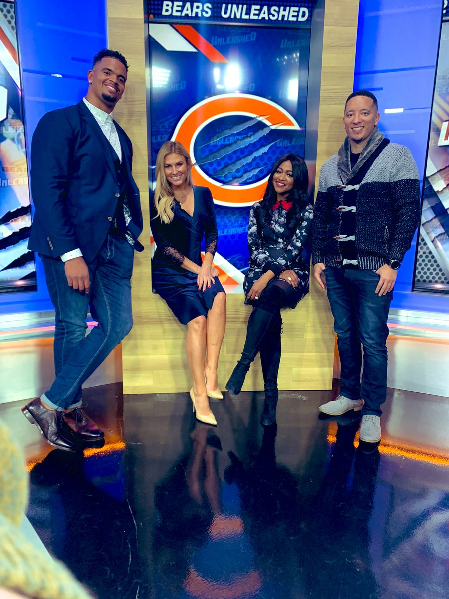 Shae Peppler Cornette On Twitter Bears Unleashed At 9 30pm With A Few Of The Best In The Biz Fox32news Chicagobears Foxkickoff