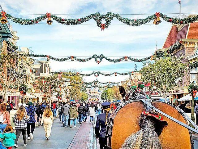 Just a regular old Main Street USA Christmas scene. -- #Disneyland #DisneyHolidays #MainStreetUSA #DisneyChristmas #DisneyPhotography #DisneyMagic #DisneyLife #DisneyLifestyle #DisneyLifestyler #DisneyLifestylers  #DisneyInsta #InstaDisney #DisneyGr… https://ift.tt/36Z0VaGpic.twitter.com/vJ8wWI7tWf