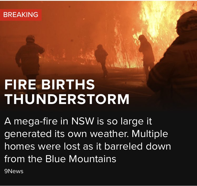 The planet is not on fucking fire