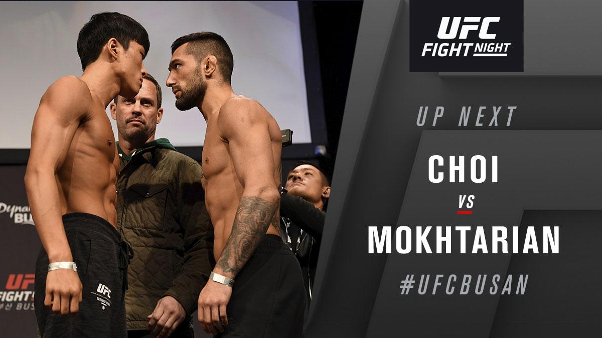 Who you picking? #UFCBusan https://t.co/GM12A4yvji