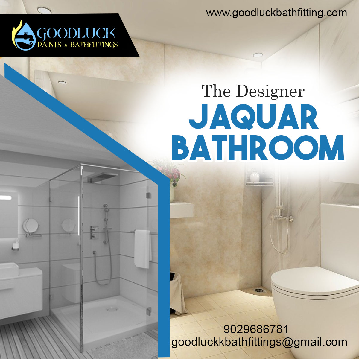 Good Luck Paints Bath Fitting Ar Twitter Enjoy Your Morning With The Best Luxury Bathrooms Designed With Jaquar Fittings Jaquar Fittings Are Trusted For Awesome Designs And Varieties In Bathroom Accessories