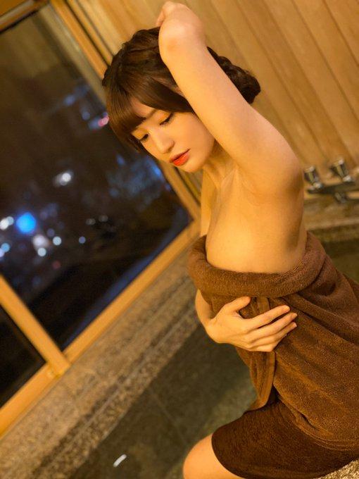 AV女優高橋しょう子のTwitter自撮りエロ画像2