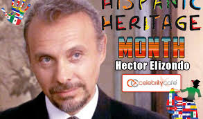 "December 22:Happy 83rd birthday to actor,Héctor Elizondo (""Chicago Hope\"")"