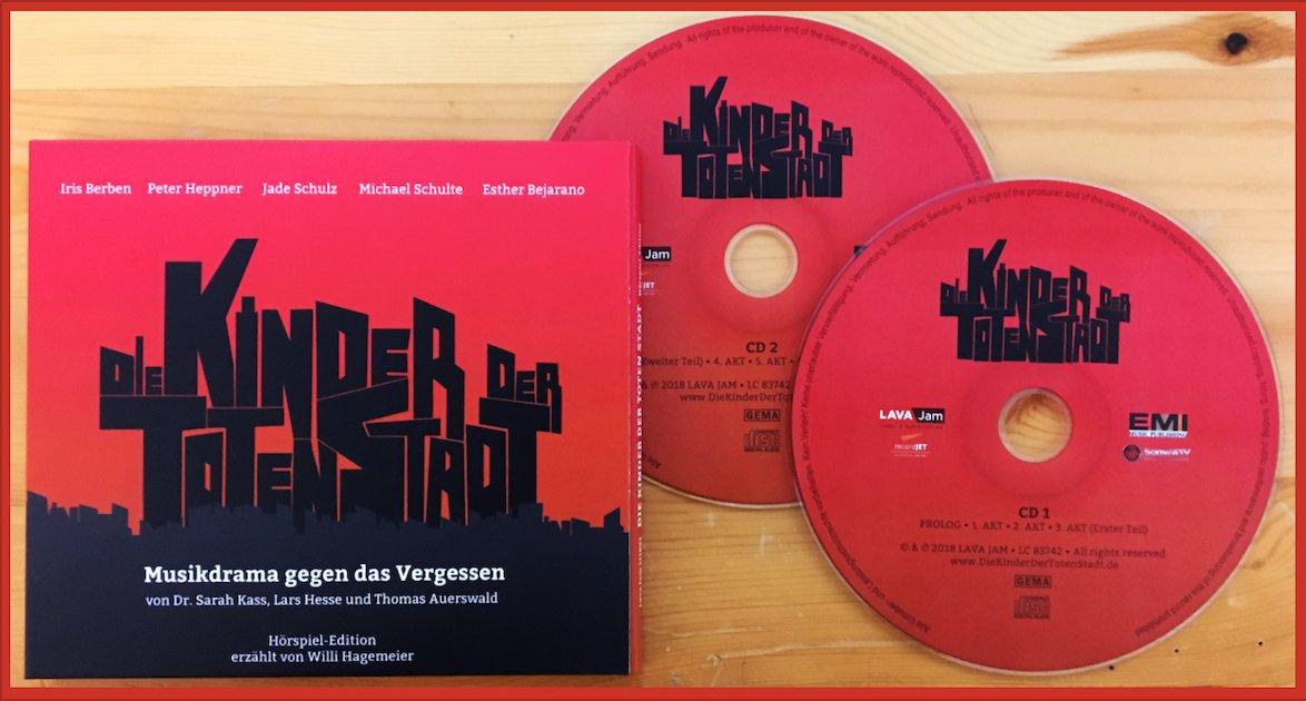 Auf der Suche nach einem #Weihnachtsgeschenk?   Das #Doppelalbum #DieKinderDerTotenStadt mit #JadeSchulz, #MichaelSchulte, #IrisBerben, #PeterHeppner und den Domchören #Paderborn gibt's als Doppel-CD überall im Handel.   #Weihnachten #Geschenk #Hörspiel #Hörbuch #Xmas #Rockoperapic.twitter.com/4TJIuC4zAb