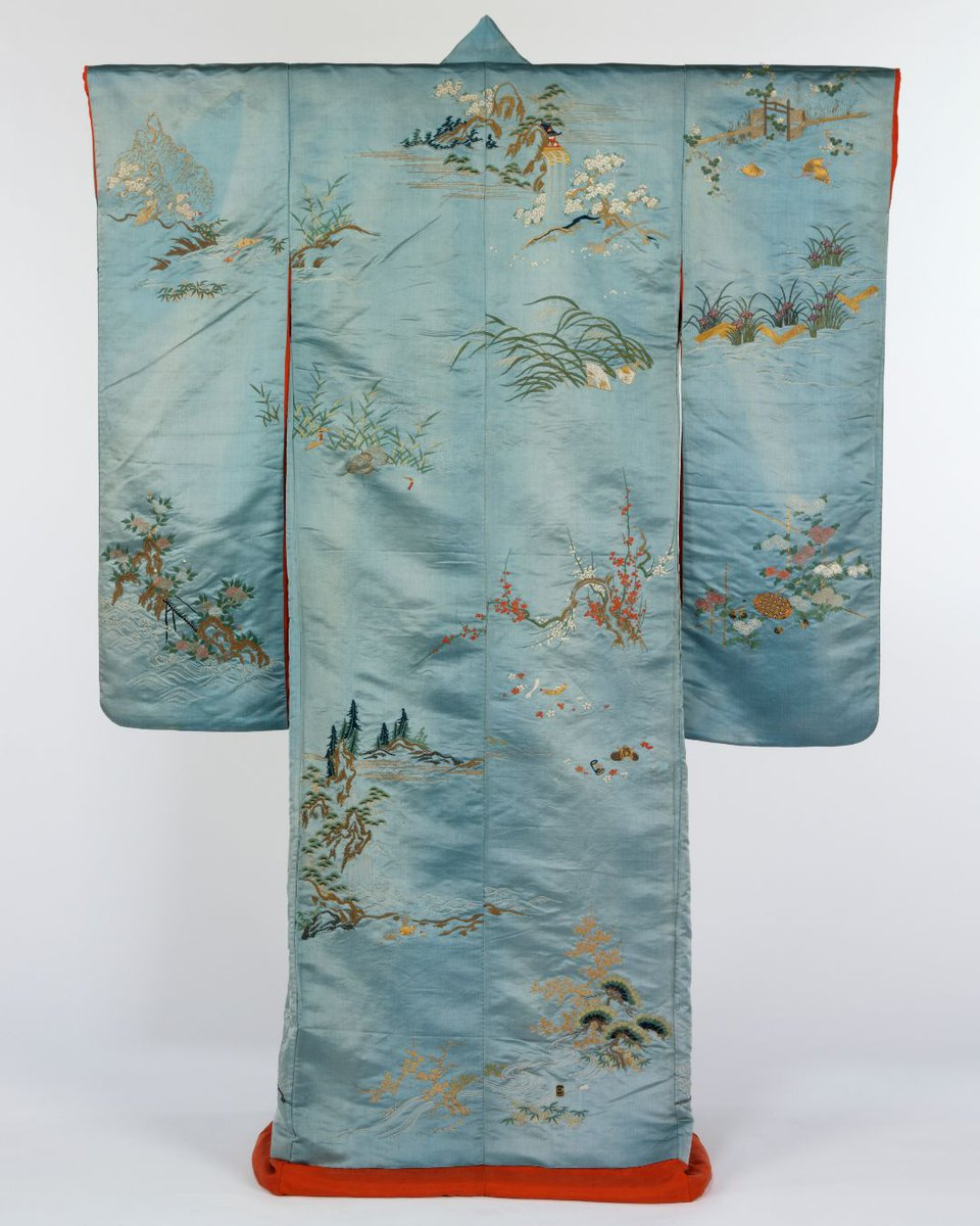 Miss Albert Embroidered Kimono