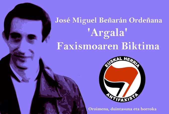 @StewR One of ours Antifascist #BasqueCountry Memory, dignity and struggle @Antifaxismoa