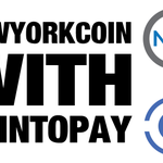 Image for the Tweet beginning: Accepting NewYorkCoin payments for your