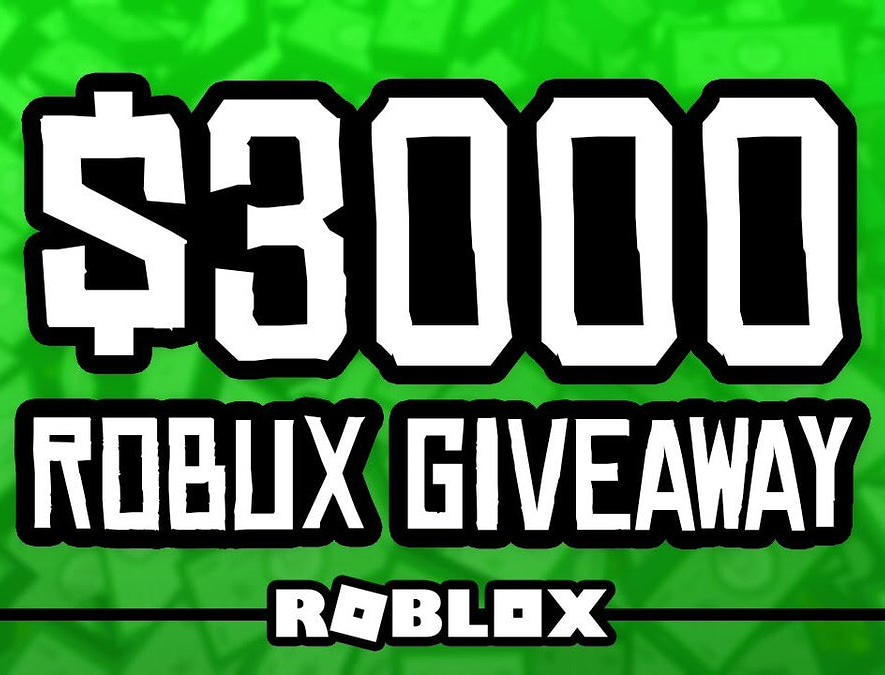 Free Robux On Twitter 3000 Robux Giveaway Requirements 1 Must