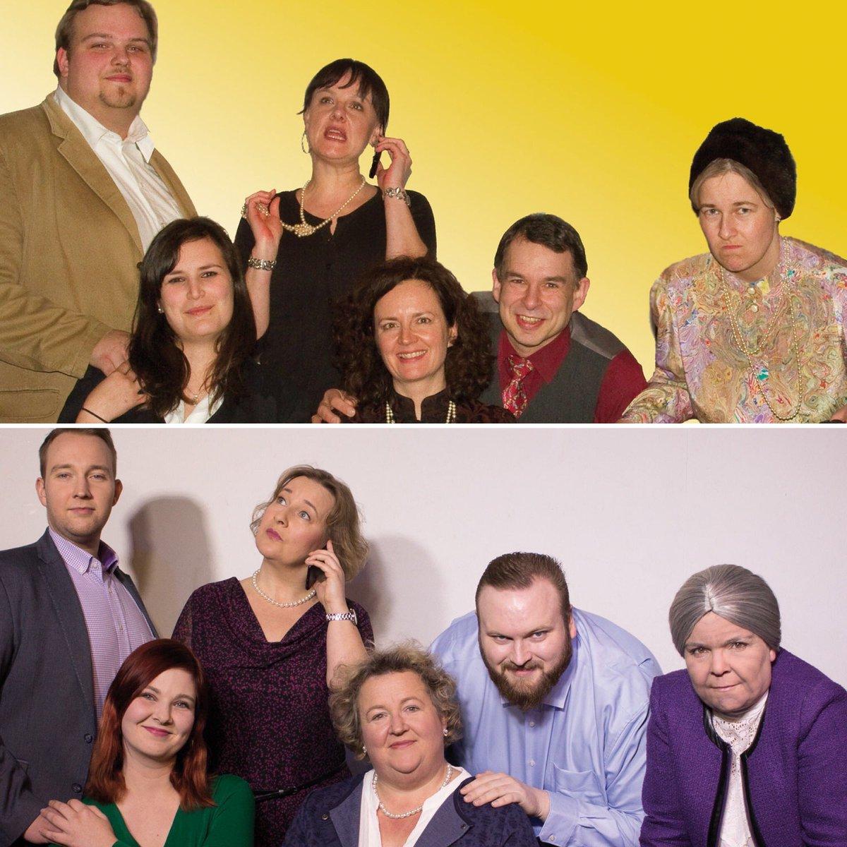 """Damals und Heute: im Mai 2010 feierten wir mit """"37 Ansichtskarten"""" unsere erste Premiere. Anlässlich unseres 10-jährigen Jubiläums feiern wir am 14. Februar 2020 die Wiederaufnahme dieses großartigen Stückes von Michael McKeever.  #theater #37ansichtskarten #komödie #hamburgpic.twitter.com/UiP4dwO2RM"""
