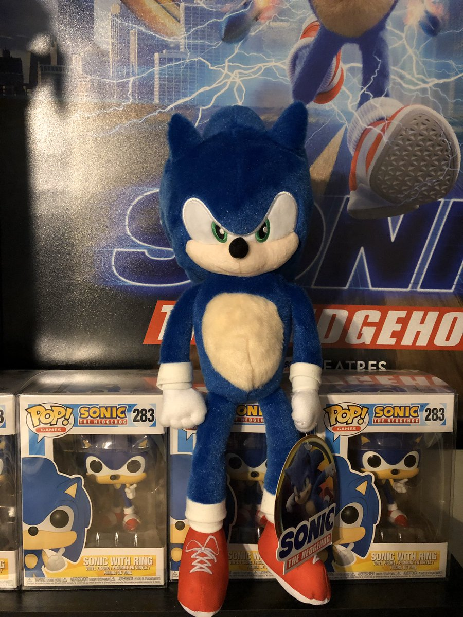 Billy K On Twitter I Ve Gotten A Sonic Movie Plush With That