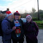 Christmas has arrived for South Cots. First of our Festival of Winter Walks.