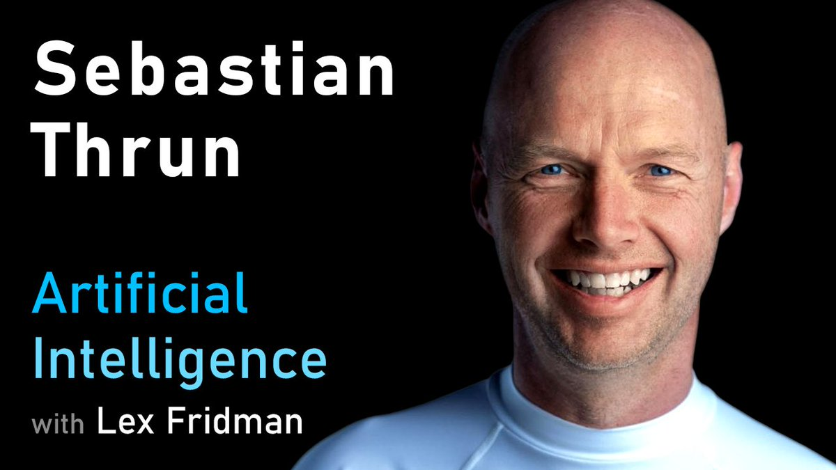 Heres my conversation with Sebastian Thrun (@sebastianthrun), one of the greatest roboticists, computer scientists, and educators of our time. He was part of launching three revolutions: autonomous vehicles, online education, and flying cars (eVTOLs): youtube.com/watch?v=ZPPAOa…