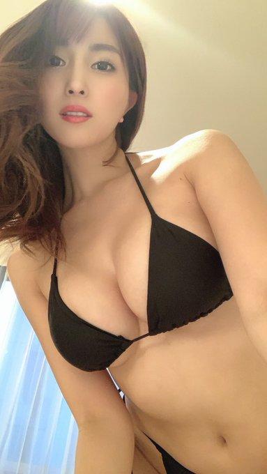 グラビアアイドル森咲智美のTwitter自撮りエロ画像20