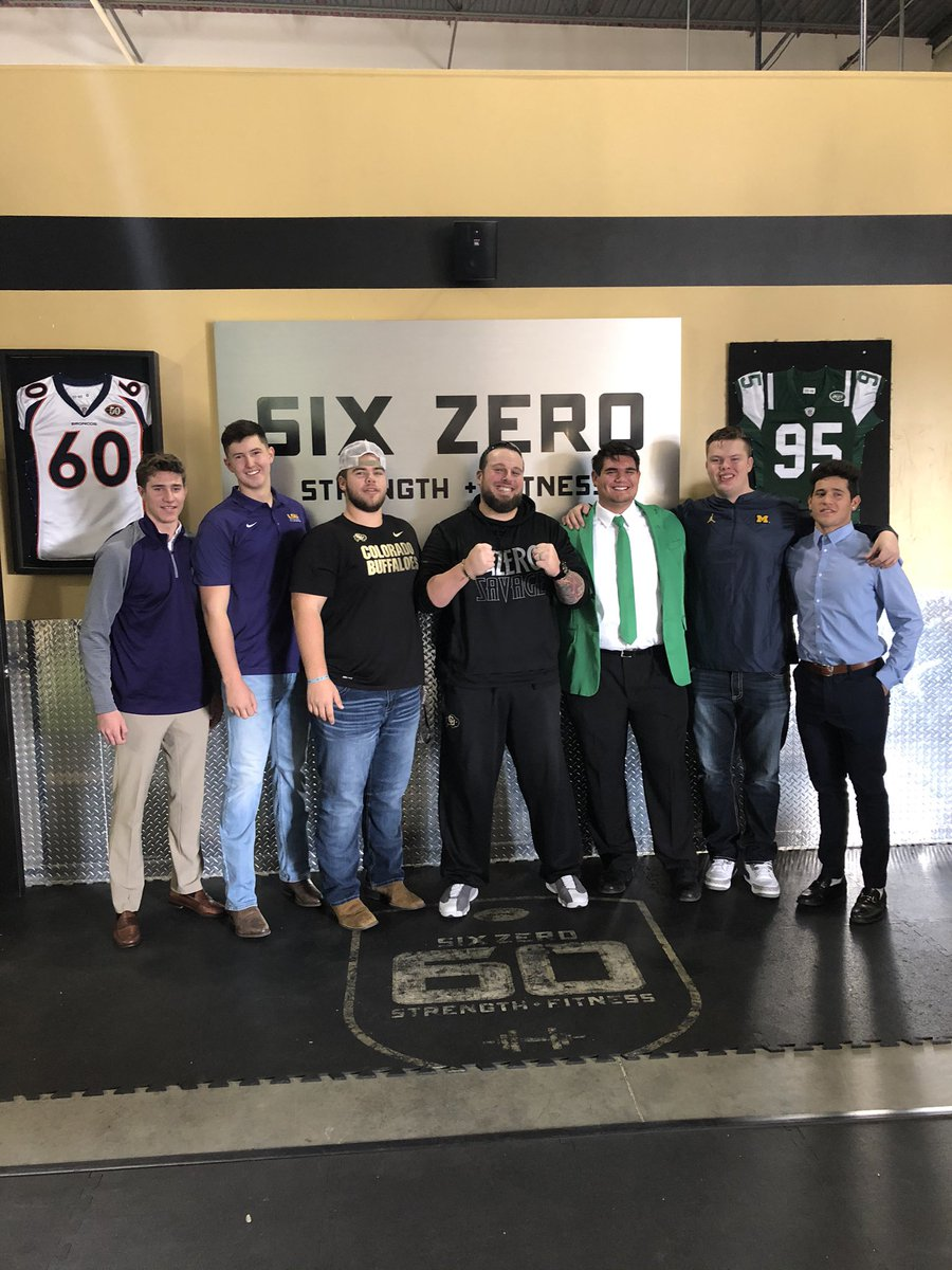 Thank you Matt McChesney @SixZeroAcademy for the help you have given thes young men. All will excel at the next level. @SixZeroAcademy is not for the weak or faint of heart.@CarsonLee75 @KoleTaylor3 @MAXMARSHIX @AidanAkfootball @atteberry5573 @Chaselopez29 @NicoleLee0525