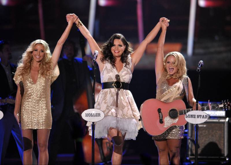 When you feel like you're not gettin' the attention you deserve you're probably stealin' the show. Sometimes it's hard to look at. That don't change the fact that we'll never let each other go. #pistolannies #grammyannies 💕