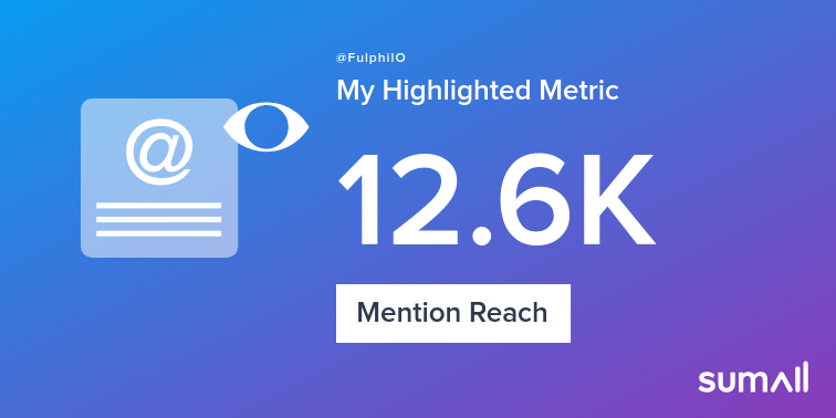 My week on Twitter 🎉: 20 Mentions, 12.6K Mention Reach, 2 Likes, 17 New Followers. See yours with sumall.com/performancetwe…