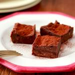 クリスマスのデザートにも丁度良さそう!レンジで作れる「濃厚生ガトーショコラ」のレシピ!