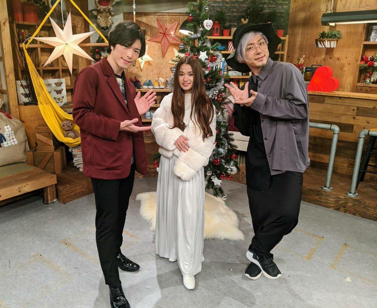 #KBC 九州朝日放送 「 #クリスマスM 」ご覧いただきありがとうございました!#fumika さんの生歌ほんとに凄かった!スタッフの皆さまありがとうございました! 皆さんのクリスマスが最高なものとなりますように🎄✨ #鍵盤男子