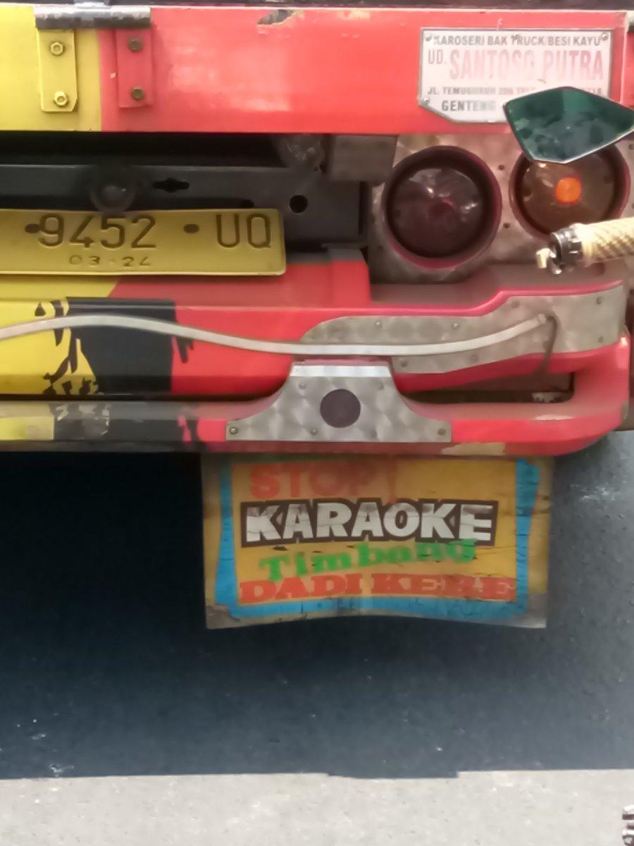 Replying to @KholikAholic: Stop karaoke timbang dadi kere  Gitu aja kok repot  @BakTrukID