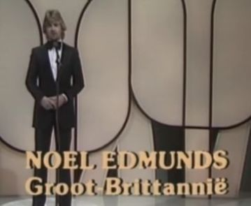 Happy Birthday Noel Edmonds.  Whose career highlight was obviously introducing Prima Donna in 1980.