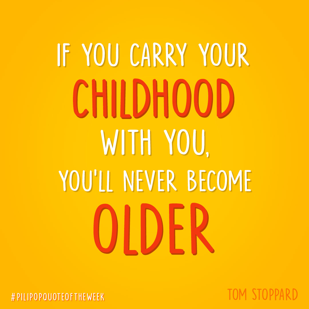 #QuoteOfTheWeek 🌶 Age is only in your mind ⌛  #Stoppard #TomStoppard #Age #Vieillir #Quote #PiliPop https://t.co/O3uhqZ7TFH