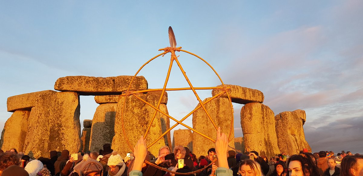 Happy Winter Solstice Folks. A good time was had by all. #WinterSolstice