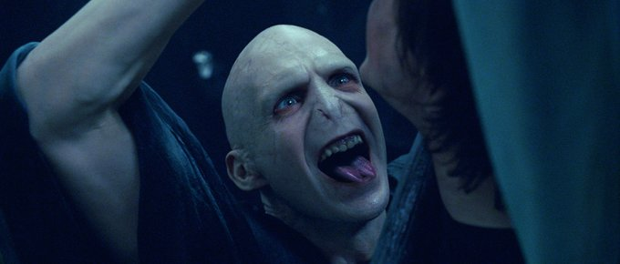 Voldemort is my past, present, and future. Happy Birthday to Ralph Fiennes, the Dark Lord himself!