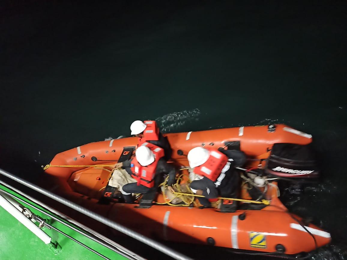 Indian Coast Guard rescues fishing boat in distress off Gujarat coast