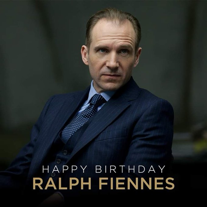 A very happy birthday to Ralph Fiennes