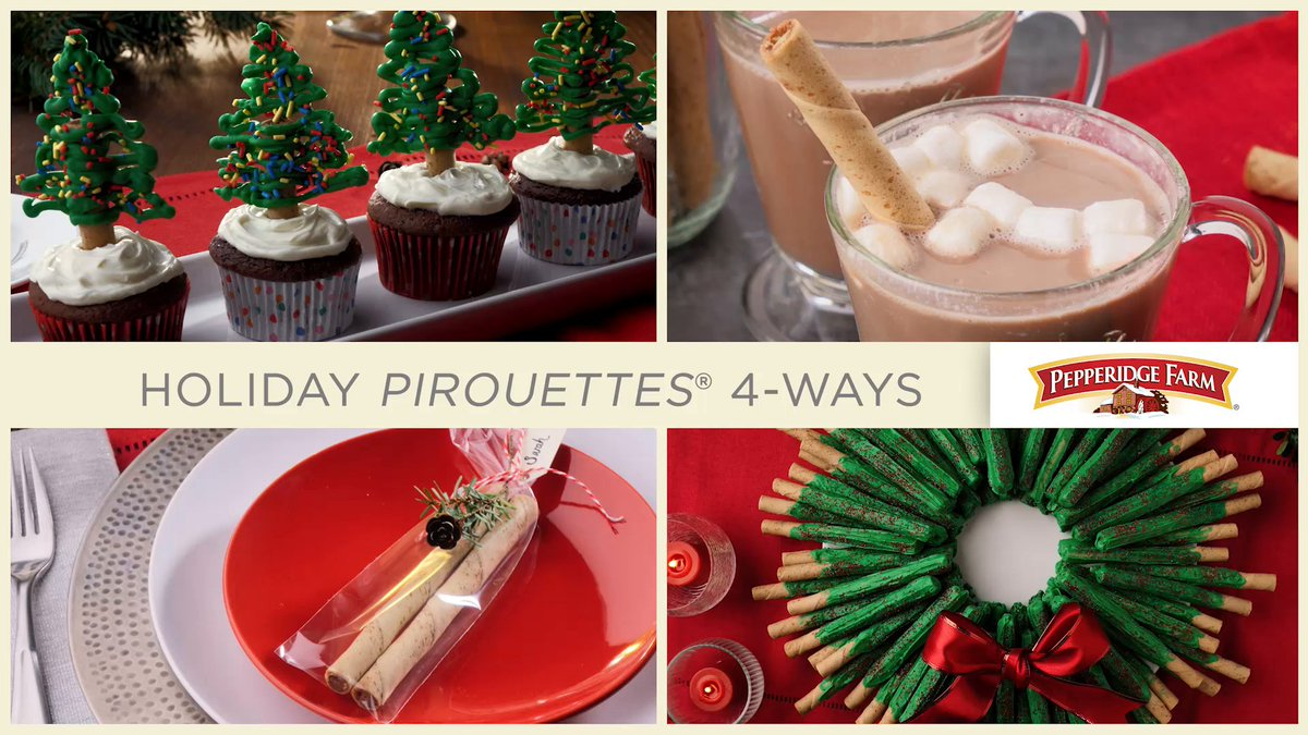 Image for the Tweet beginning: Four festive ways for using