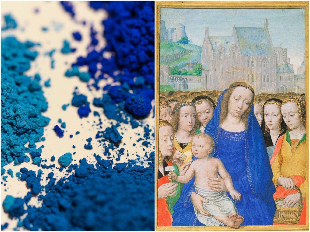 """VergesseneBibliothek on Twitter: """"Die #Geschichte der Farbe Blau: Von # Ägypten bis zu den neuesten wissenschaftlichen Entdeckungen   von  @ana_michailova   #Kunst   https://t.co/NDpCB8AfXD… https://t.co/Ij1uv5rkZB"""""""