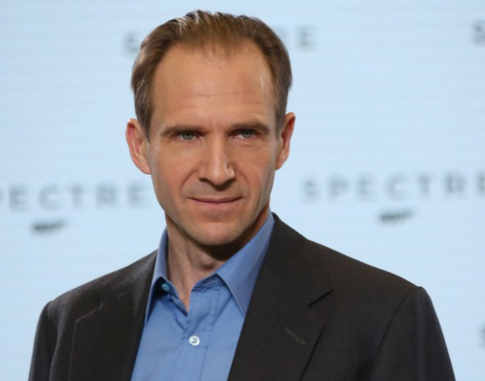"""Happy 57th Birthday to Ralph Fiennes! Aka lord \""""he who must not be named\"""" voldemort"""