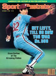"Happy 75th Birthday to perhaps the greatest Phillies pitcher of the modern era.. Steve Carlton aka, \""Lefty\"""