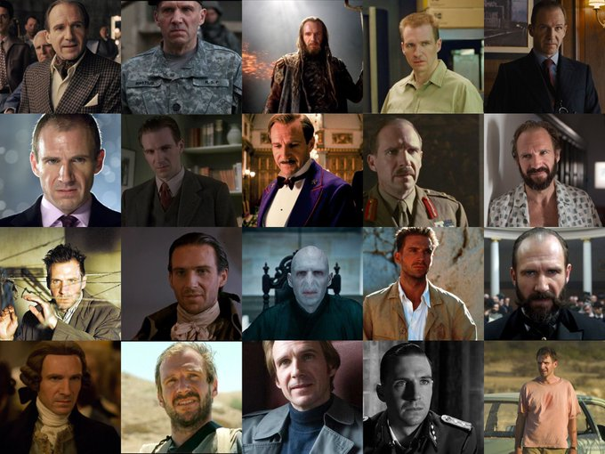 Happy 57th Birthday to Ralph Fiennes! One of the most versatile actors working today.