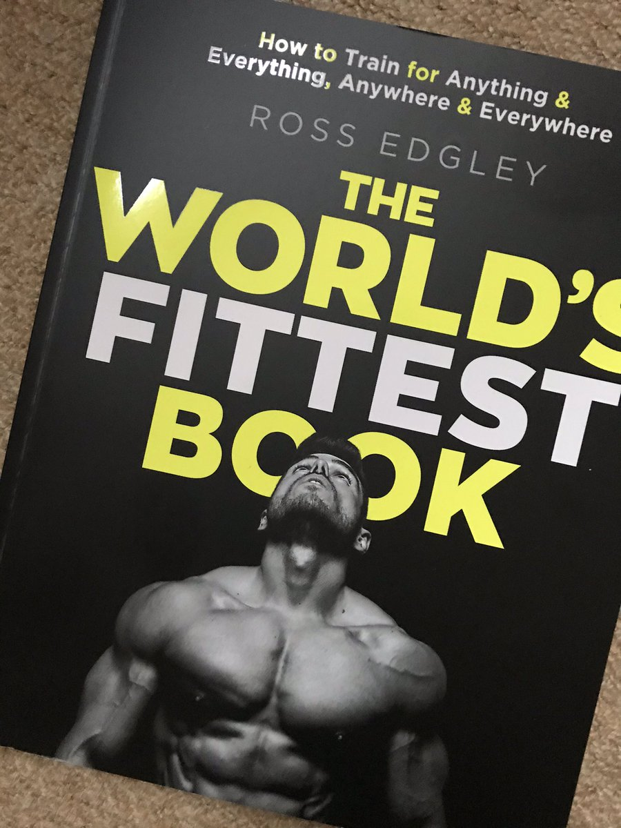 Look out! New book to read 📖 💪@RossEdgley #BirthdayPresent #FitnessMotivation